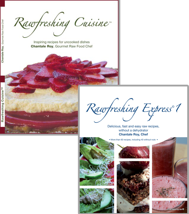 Books rawfreshing cuisine in english chantale roy books rawfreshing cuisine rawfreshing express 1 in english forumfinder Gallery