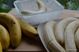 congélation des bananes