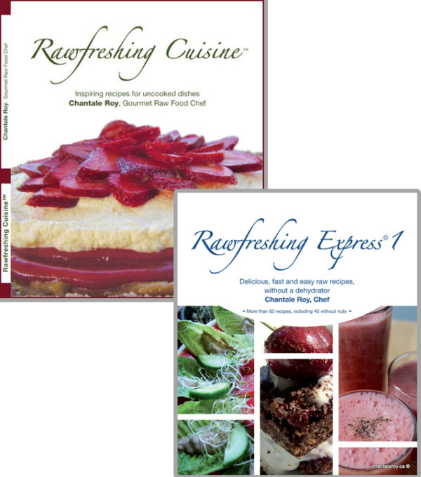 Books rawfreshing cuisine in english chantale roy books rawfreshing cuisine rawfreshing express 1 in english forumfinder Image collections